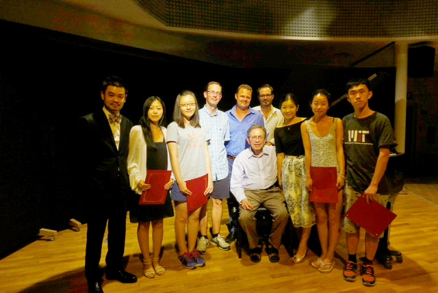 Winners and Judges of the 2015 Maccagno Piano Days Festival Competition