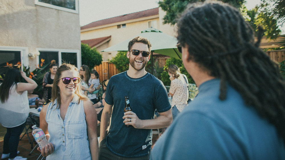Join a Community Group - Community Groups are the primary way we scatter during the week around Ventura to live out the way of Jesus together.