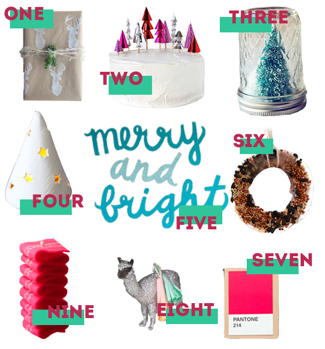 holiday diy roundup