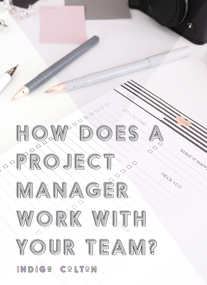 How Does A Project Manager Work With Your Team? | www.indigocolton.com