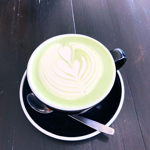 Traveling full-time really just means adventures strung together by a series of matcha lattes 🍵😍😋