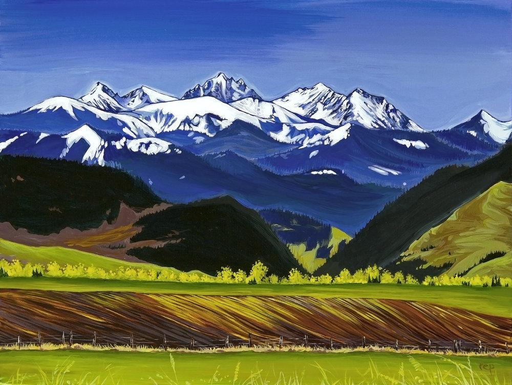 """""""Spanish Peaks"""""""
