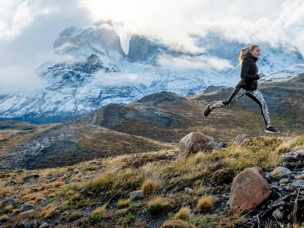 Running in Patagonia