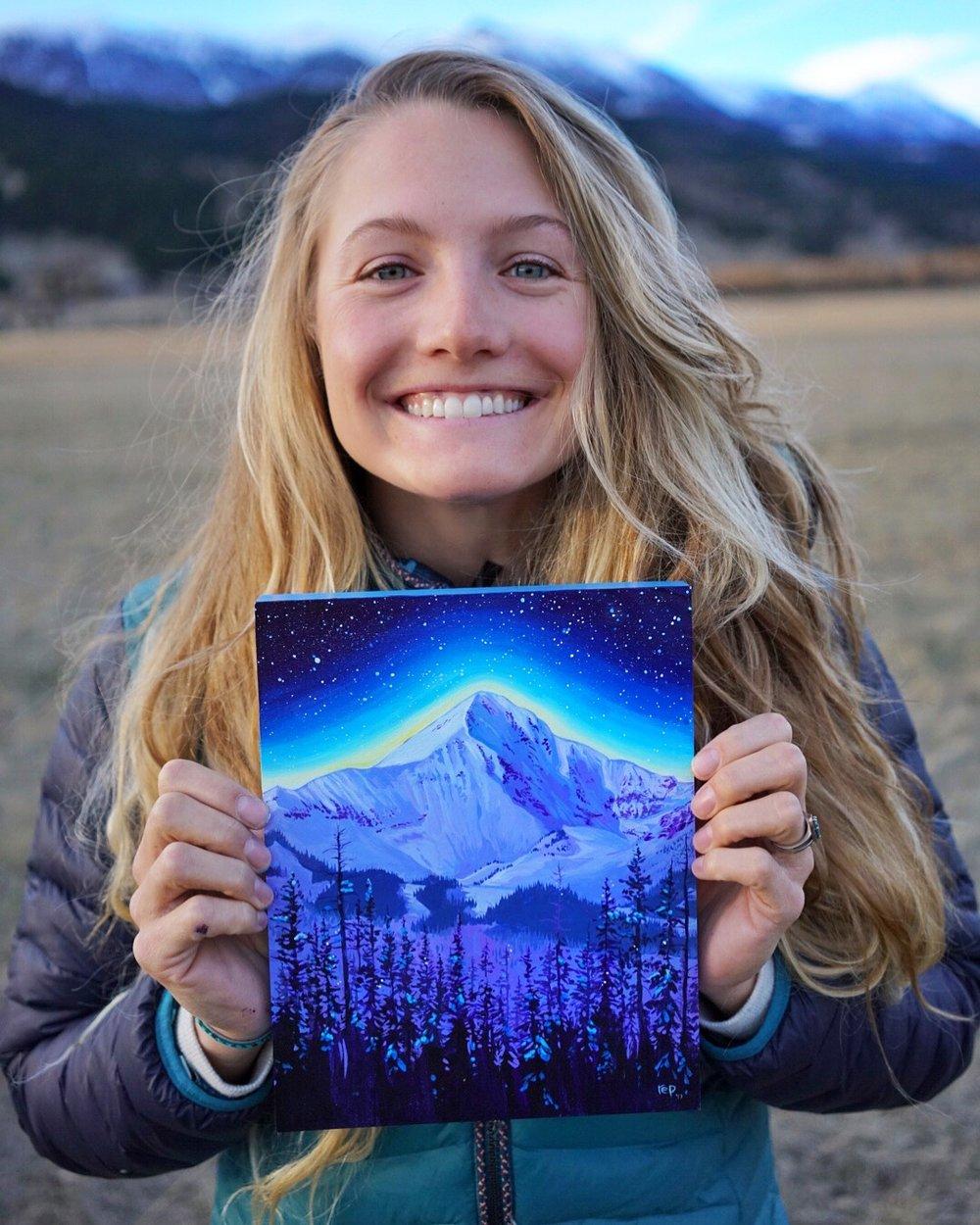 """""""Lone Peak"""" Original"""