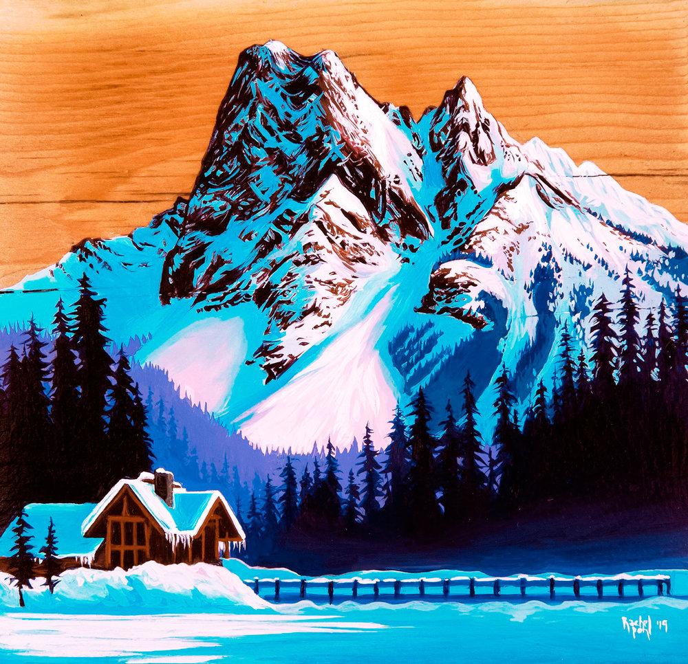 """""""Emerald Lake Sunset"""""""