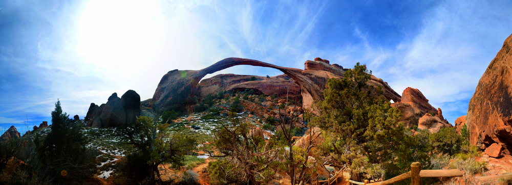 Landscape Arch, Arches National Park, Utah