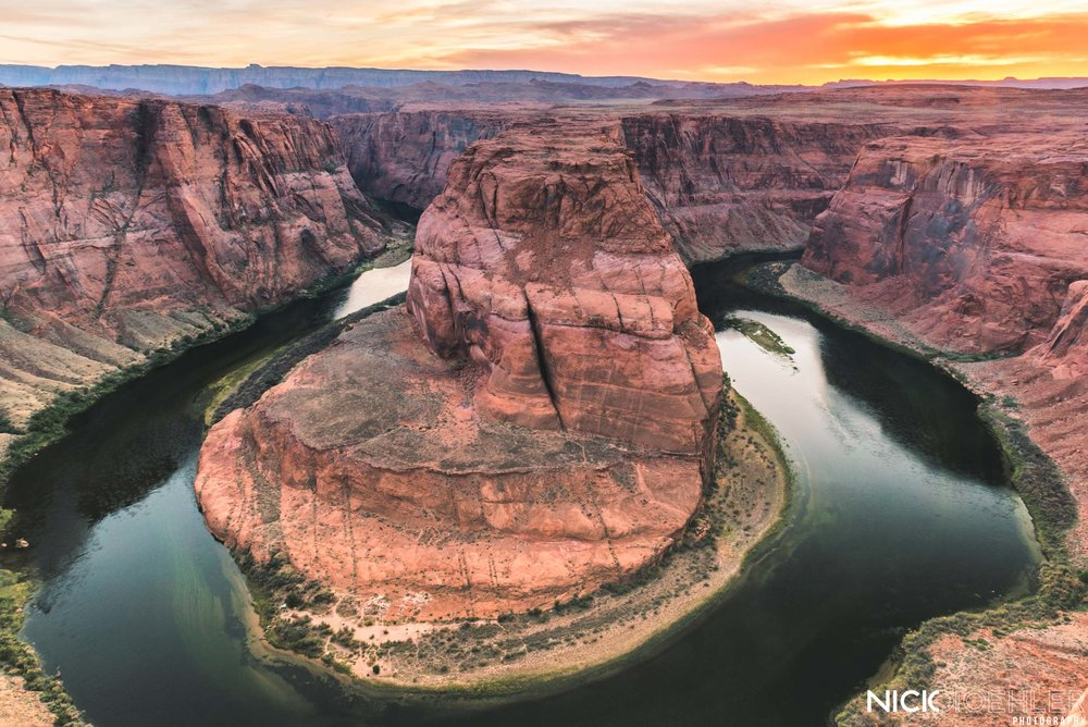 Grand Canyon National Park: Horseshoe Bend, such a classic spot. But lived up to it's hype.