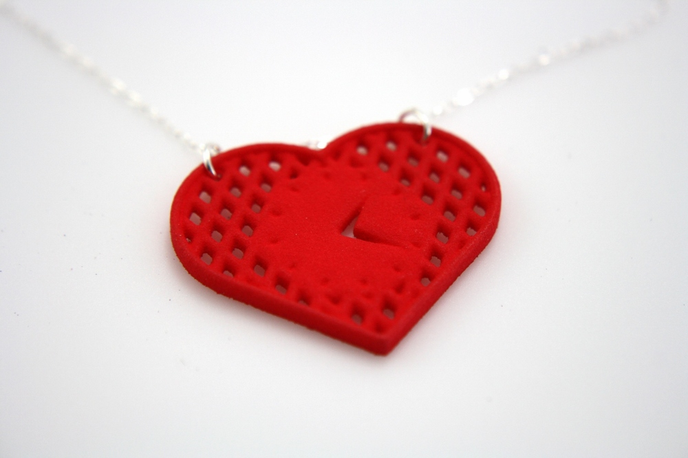 Heart Lattice Pendant