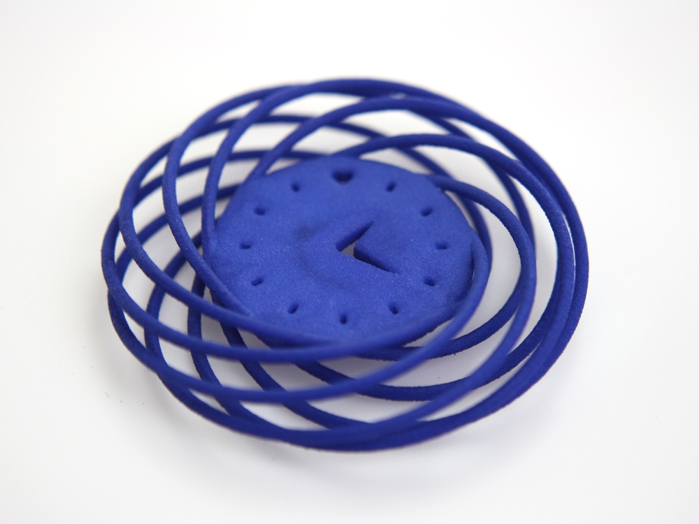 Torus Knot Clock Pendant