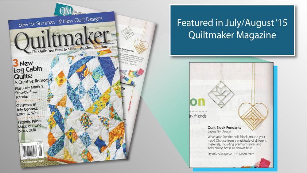Quiltmaker Magazine Layers By Design