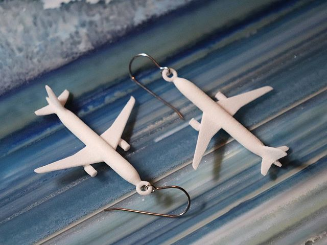 Take your jewelry to new heights!  This will land as a perfect gift for #pilots. Fun fashion for the runway! Just wing it... #pilotjokes #badpuns #etsyseller #airlines