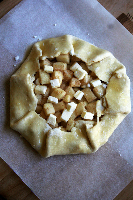 Galette Ready for Oven