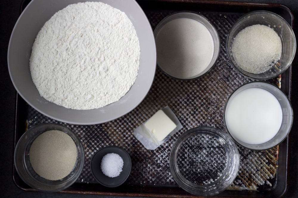English Muffins Ingredients