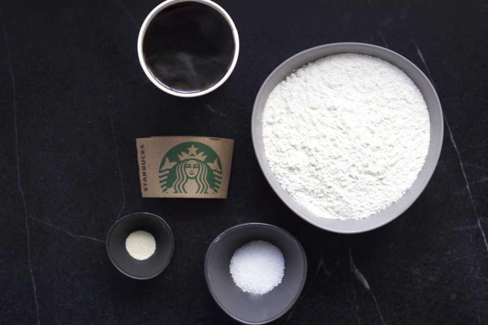 Flour, Salt, Yeast and Starbucks