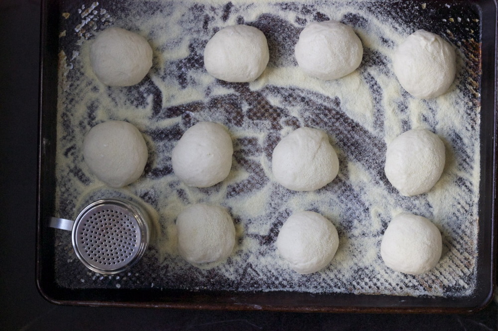 English Muffin dough balls 85 grams
