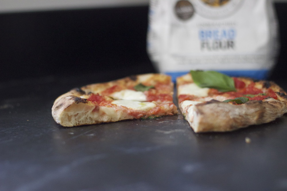 margherita pizza with king arthur bread flour