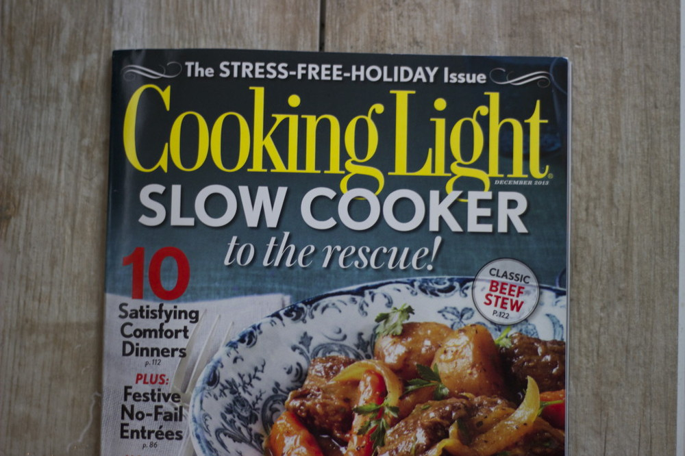 Cooking Light Magazine, December 2013