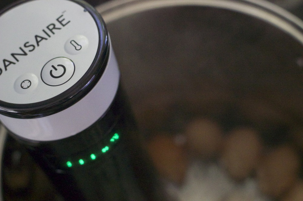 Sansaire immersion circulator to the rescue