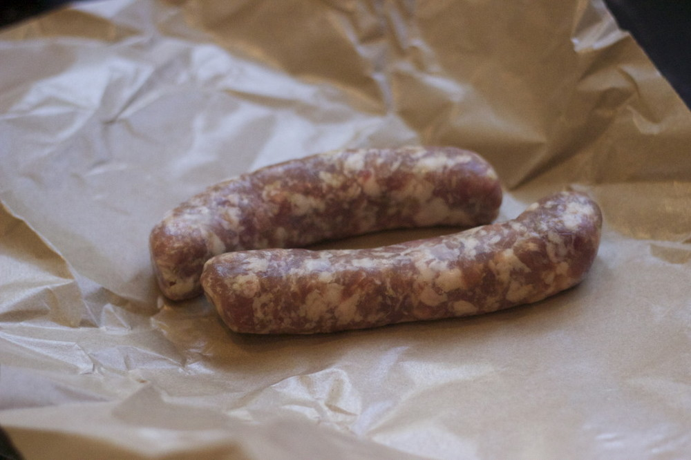 store bough sausage