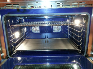 Steel in Wolf 36 inch oven