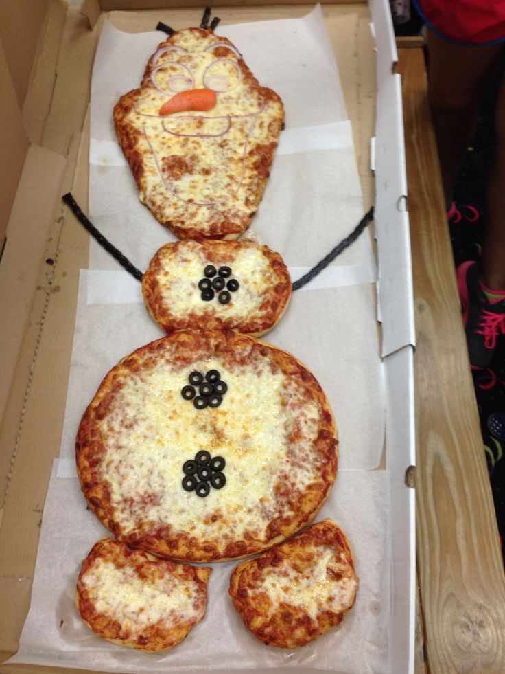 The movie Frozen is hard to escape, it's even made its way into pizza kitchens.
