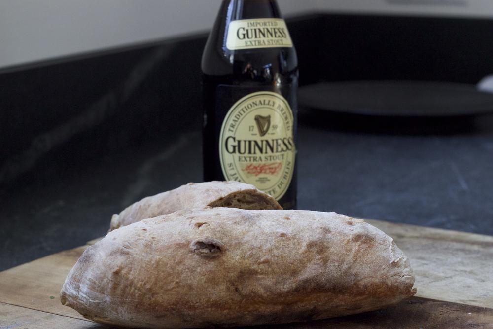 Guinness Ciabatta