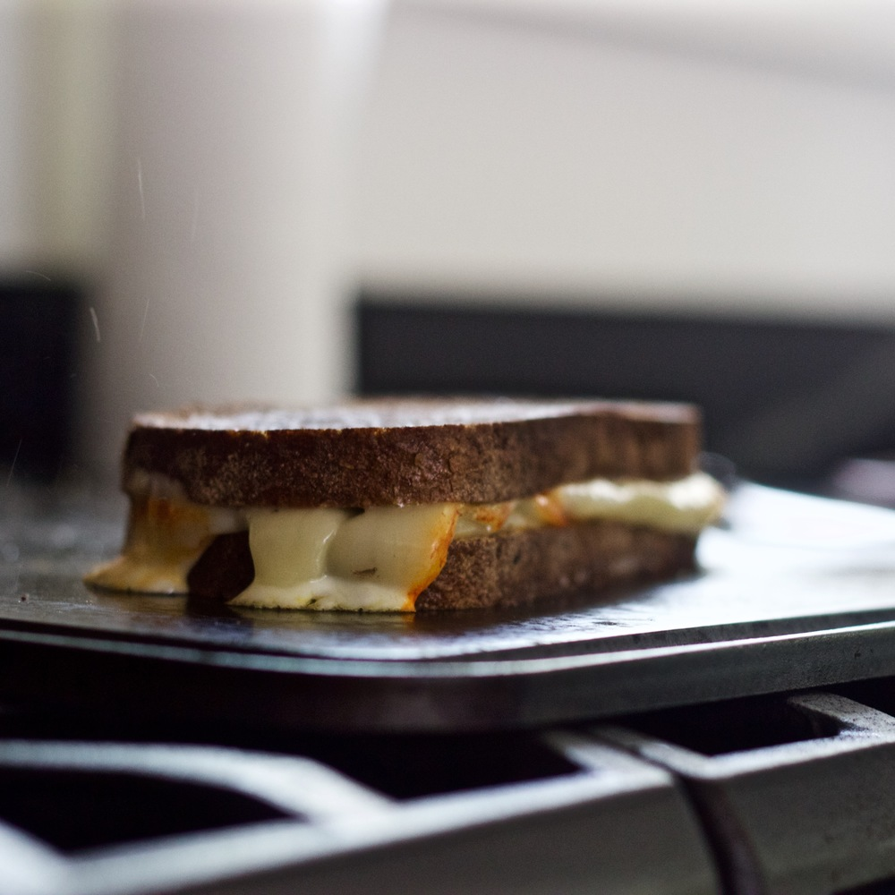 Grilled Cheese on the Baking Steel Griddle