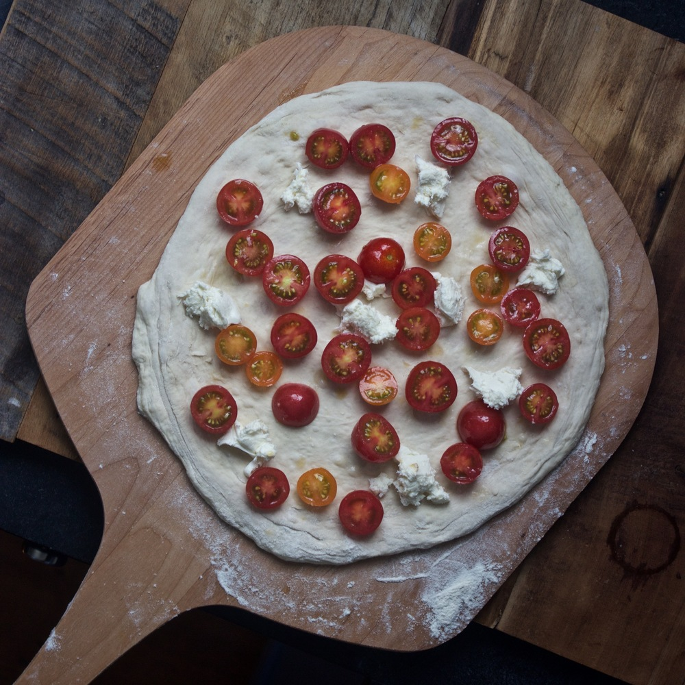 pre launch tomato pizza