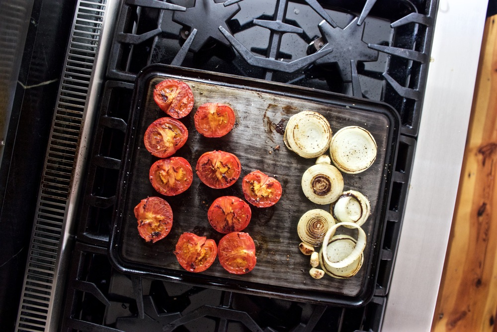 tomatoes on the Griddle