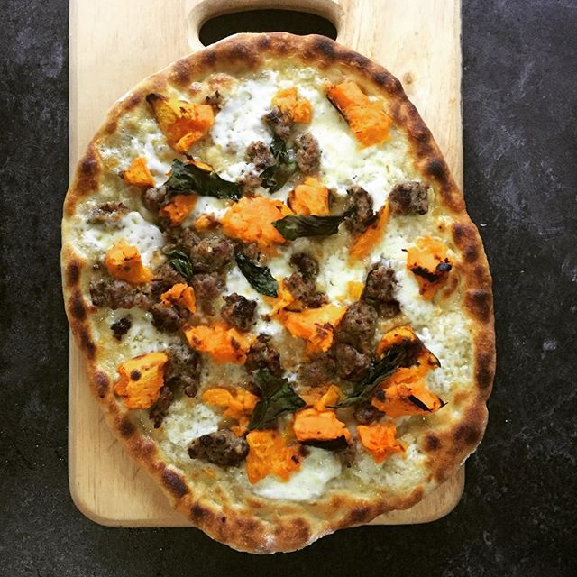 @sosergio  we love this combo of sausage and sweet potato. Well done!