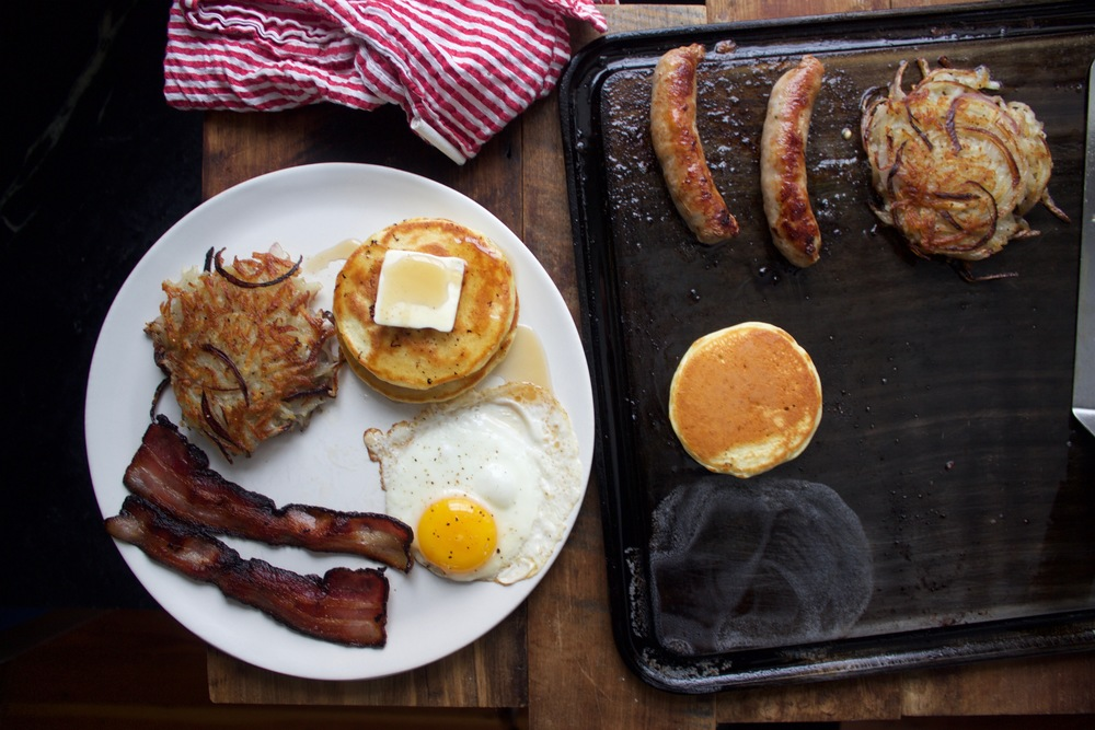 Baking Steel Griddle Breakfast