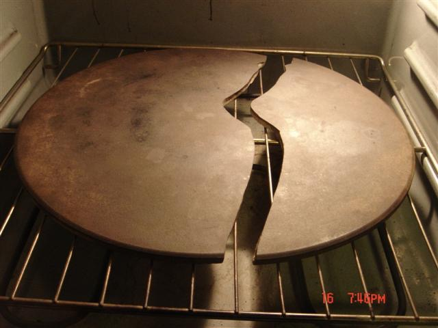 Why Your Pizza Stone Cracked And How To Prevent It