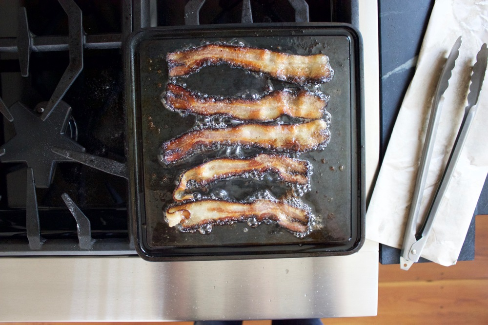 Bacon on the Baking Steel Mini