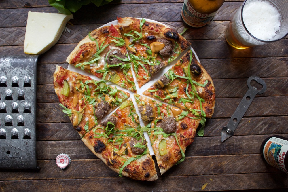 Jr cheeseburger pizza recipe