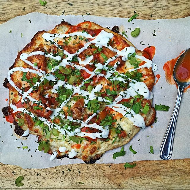 @mybizzykitchen  At it again with the yummy and healthy pizza!