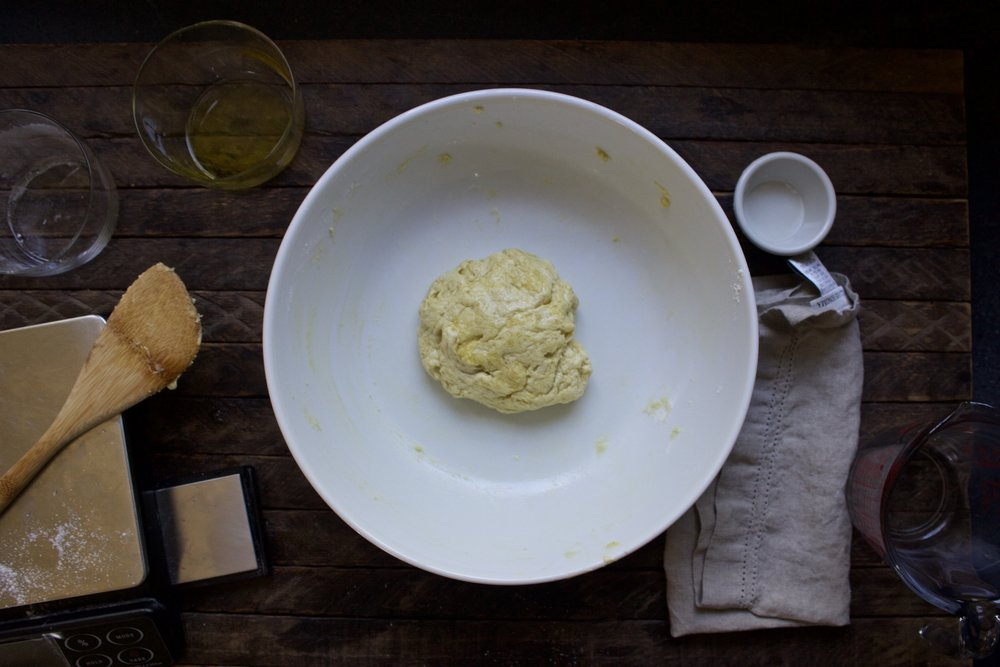 olive oil tortas dough