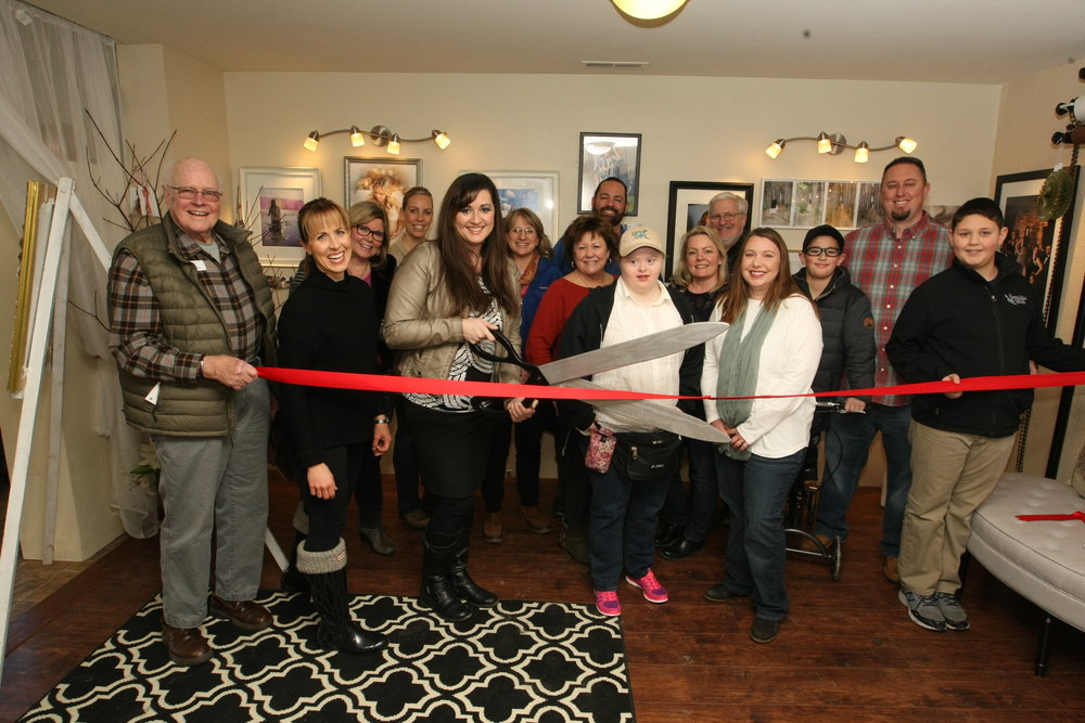 Sandpoint Chamber of Commerce Ribbon Cutting at Lisa Turner Photography January 31, 2017