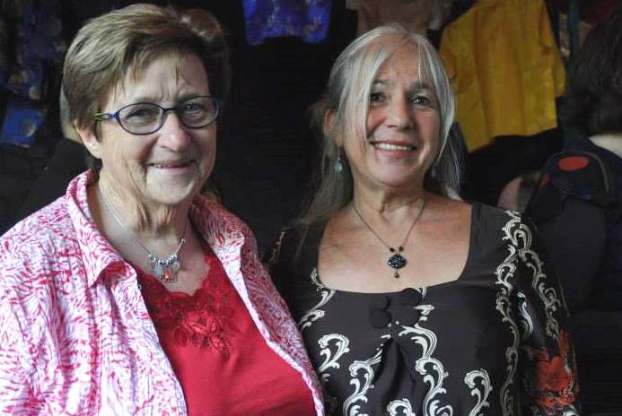 (L-R) Wendy Flemming & Sylvie Leber