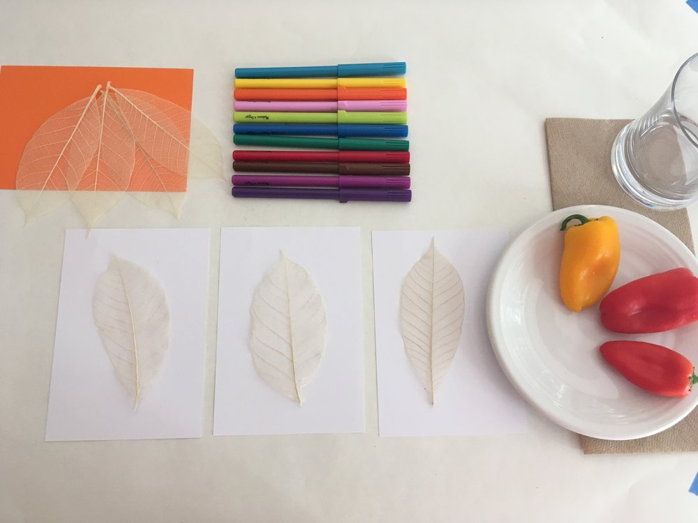 Preschool Fall Place-settings