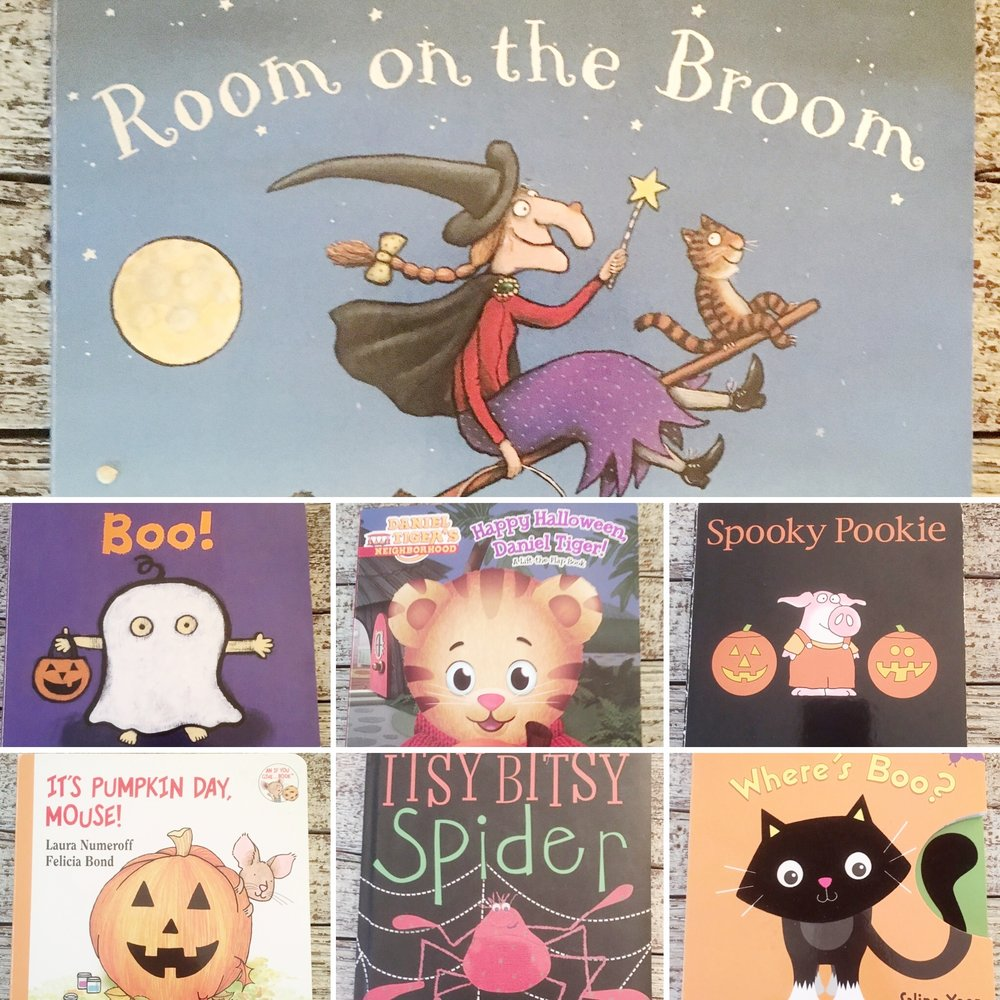 Preschool Halloween Board Books