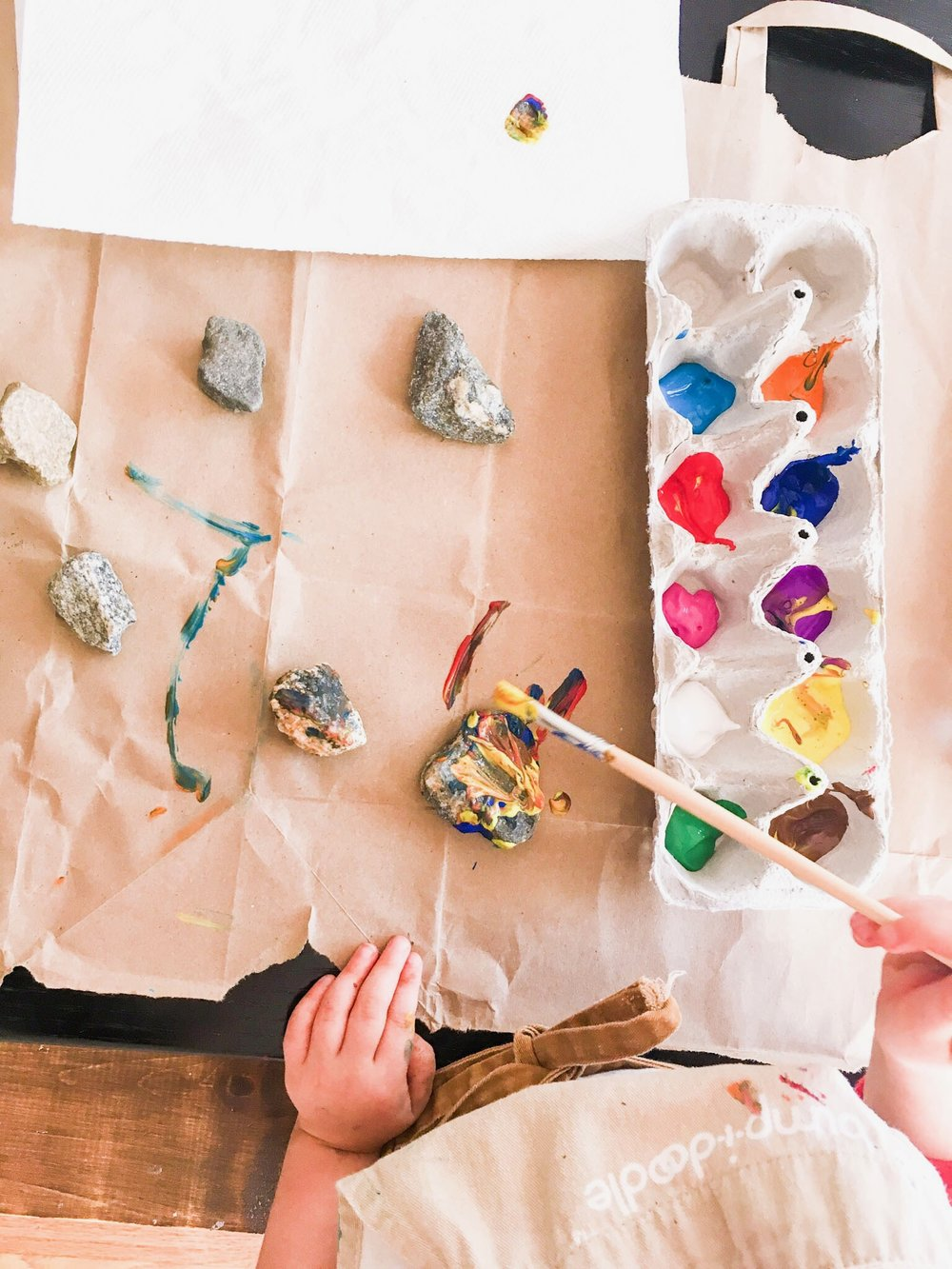 Painting with Preschoolers