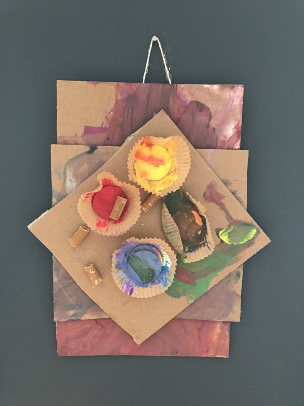 preschool art provocation