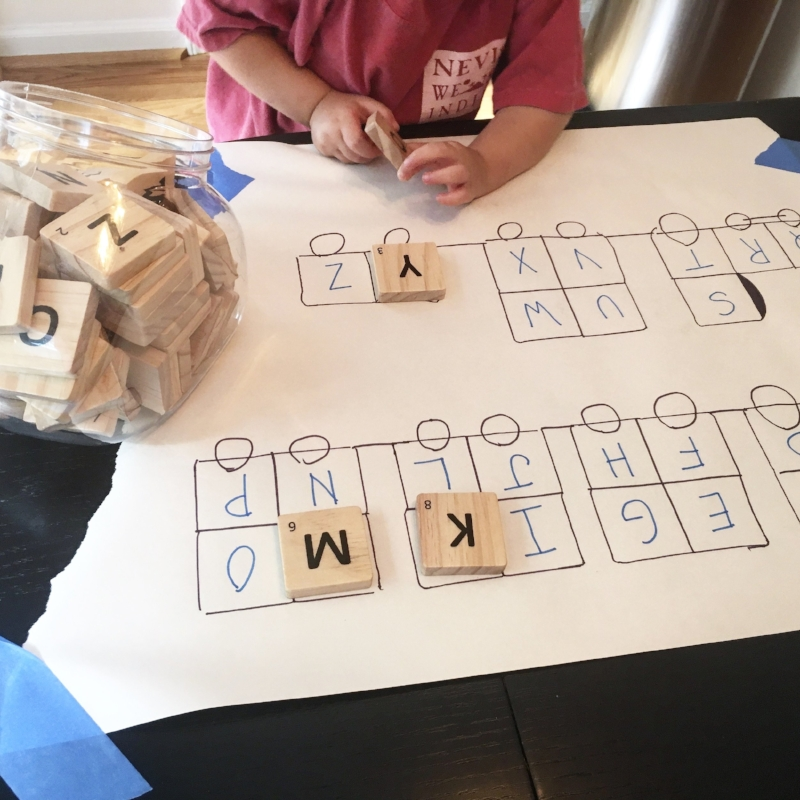 Letter Recognition Match-Up