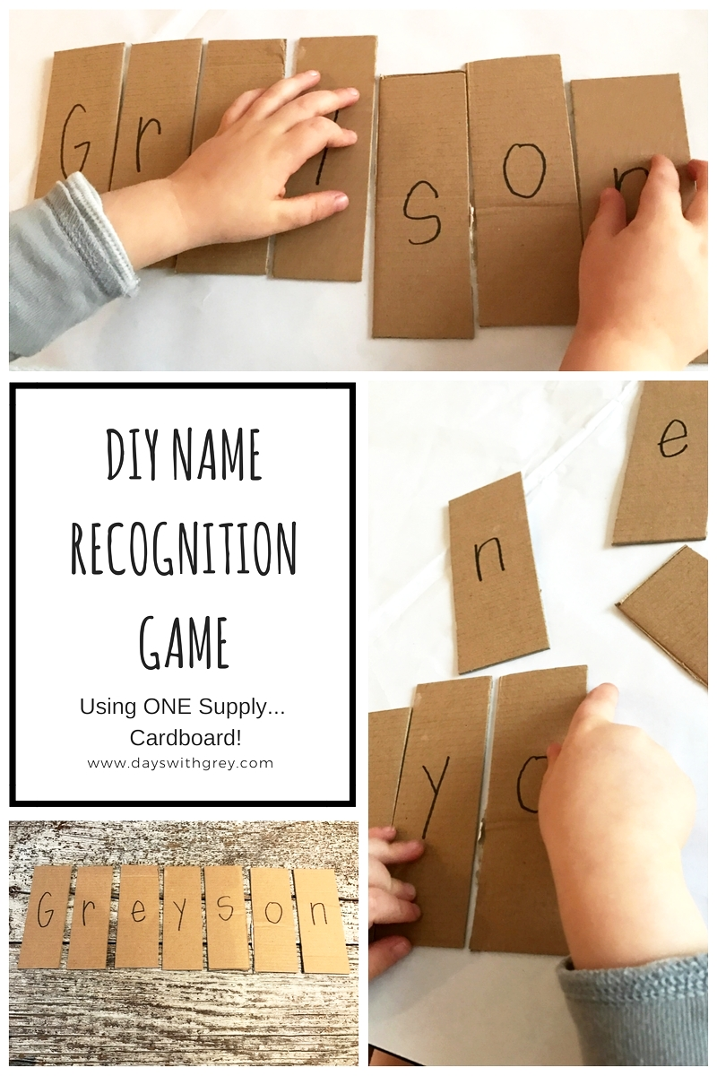 Preschool Name Recognition