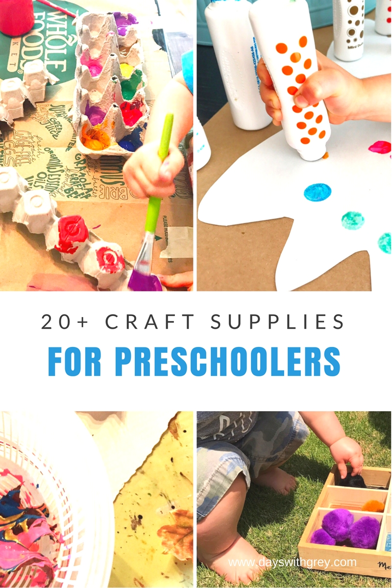 preschool craft supplies