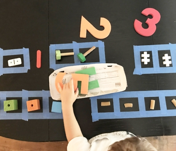 Preschool math games