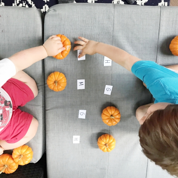 fall preschool games