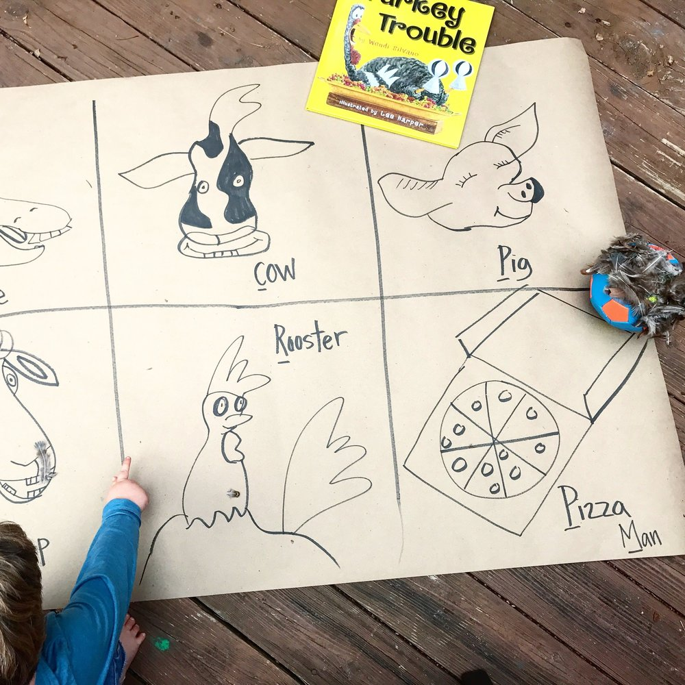 preschool book activity