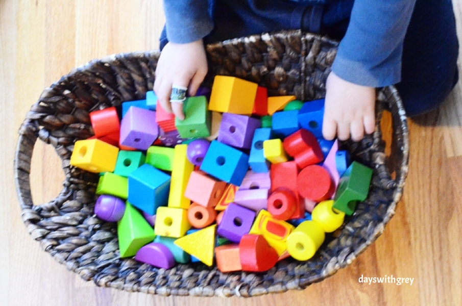 preschool block play