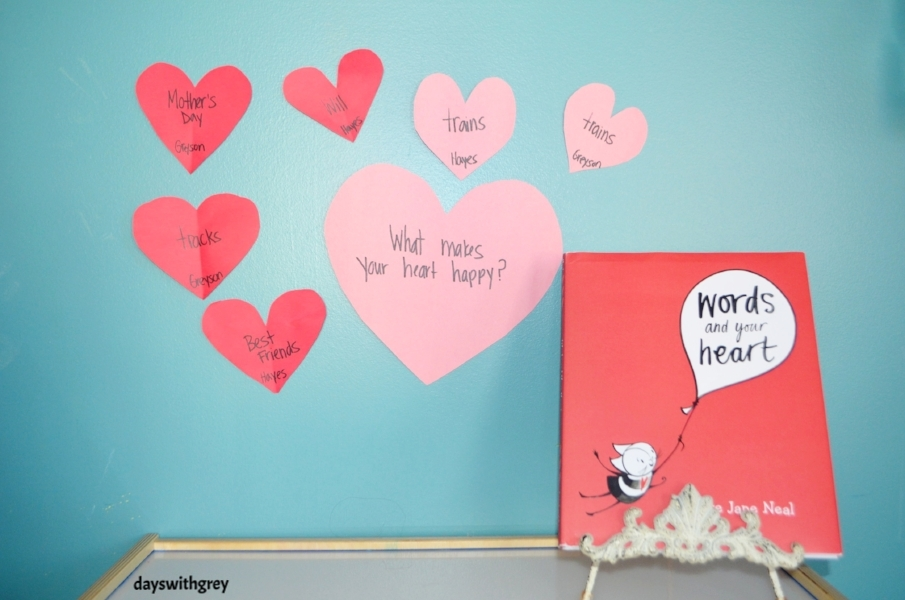 preschool valentines book and activity